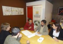 """Trabajando sobre los Planos del Proyecto """"Las Siete Fuentes""""."""