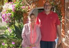 El Presidente de Fundación Phi, D. Félix Balboa con Violett Prod'Hom