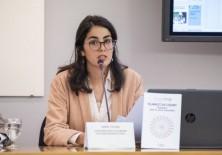 Sara Tolba, ONG Aisa Internacional, representante del Islamismo.