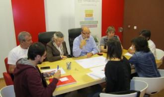 Reunión del Patronato de Fundación Phi con Phi Gaia y el equipo de arquitectura (Phi Design)