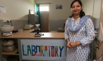 Laboratorio - Child-Inn, en Jaipur.