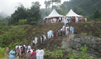 Terrenos del futuro centro Ananda Ashram