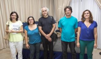 A la izquierda, Begoña García Serrano, representando a Fundación Phi y a Phi Gaia