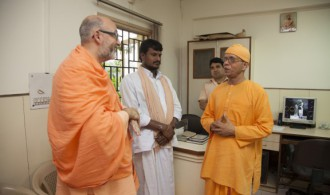 Rev. Swami Shantatmananda - Secretary Ramakrishna Mission Delhi