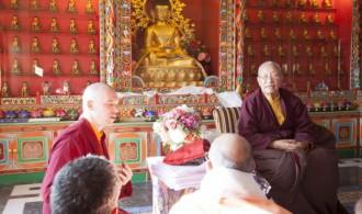 His Eminence Khamtrul Rimpoche  - Chime Gyaltse Monastery