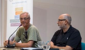 Pedro Pozas Terrados, Director Ejecutivo del Proyecto Gran Simio, Félix Balboa, Presidente de Fundación P y