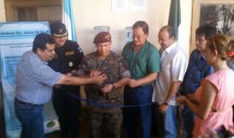 Inauguración de dispensario marino en Guatemala.