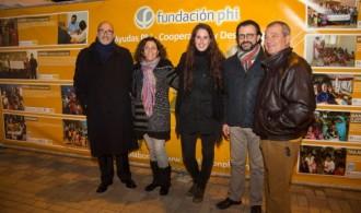 Miembros de Fundación Phi, de Fundació Mediambiental y de Mama Jane's Project en España