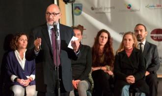 El Presidente de Fundación Phi, D. Félix Balboa en el acto de inauguración del Mercadillo Solidario 2013