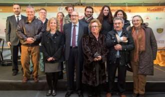 Miembros del Ayuntamiento de Puçol y de Fundación Phi