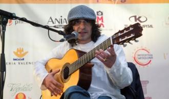 David Amaya en concierto. Mercadillo Solidario 2013.