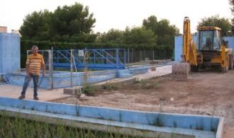 Visita a la E.D.A.R. de la urbanización Los Monasterios de Puçol por parte de Fundación Phi