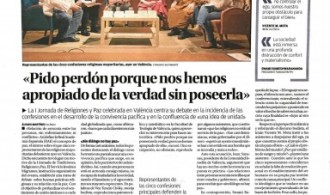 """Publicación de la noticia en periódico """"Levante"""" (03/04/19)"""
