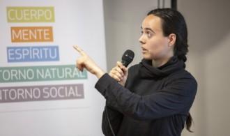 Sandra Céspedes, responsable de Ciencias Ambientales