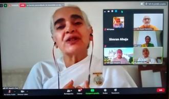 Sister Jayanti BK (Directora para Europa de Brahma Kumaris)