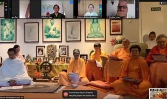Pujya Swami Rameshwarananda Giri Maharaj y el Centro Vedántico