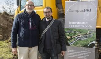 Félix Balboa, Presidente de Fundación Phi e Ignacio Rodríguez, Presidente de Phi Gaia SL