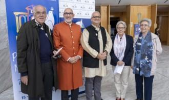 Trascendence: Padre Vicente Collado, Pujya Swami Rameshwarananda Giri, Juan Carlos Ramchandani, Mª Gracia Gil y Rosa Ortí