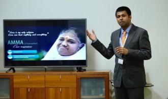 Prof. Shyam Diwakar, Amrita University, Coimbatore, India.